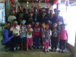 Valentine's Day Party at the school