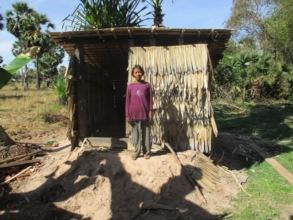 Basic wall and roof provided by recipient