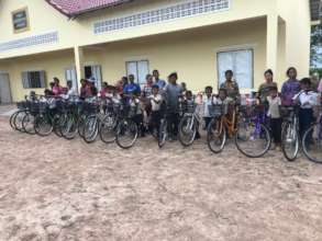 Bike Delivery at Tapor Primary School