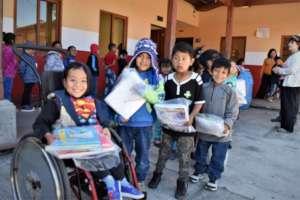 Receiving School Supplies