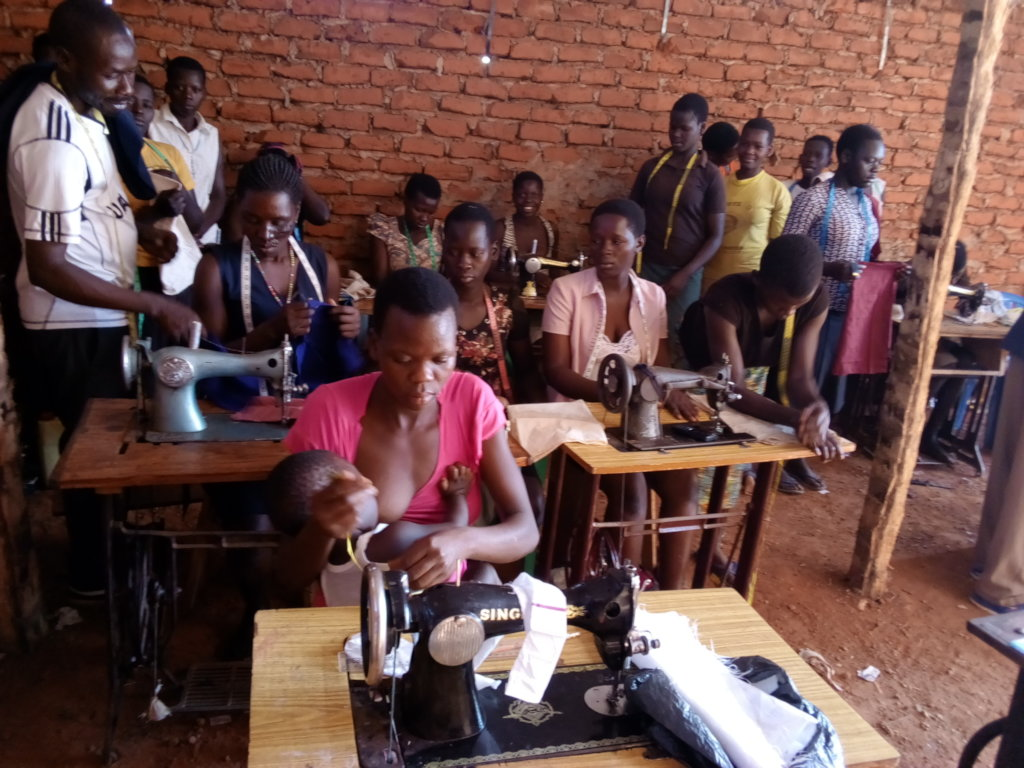 Vocational skills for rural young women and girls