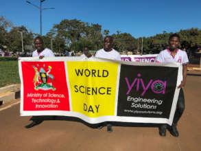World Science Day parade!