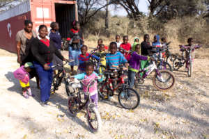 Children also benefit from our healthcare projects