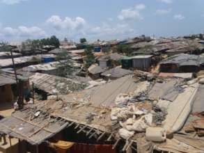 Rohingya living place