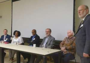 Panel of speakers with PPAF moderator