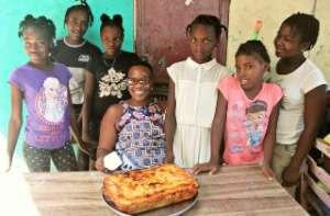 Baking class & teacher at ACFFC