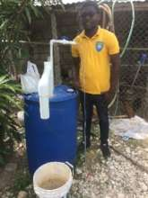 UNDH-H student with his own biodigester