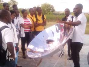 Learning about the SK14 parabolic solar cooker