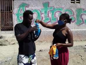 Mask for Jacmel neighbor