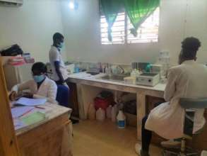 UNDH-H staff in the clinic