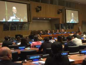 PPAF Executive Director Speaking at UN