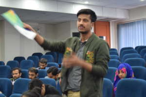 Students engaging with TFP and its vision at NUST