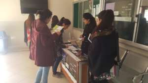 Bahria- campus ambassadors engaging students
