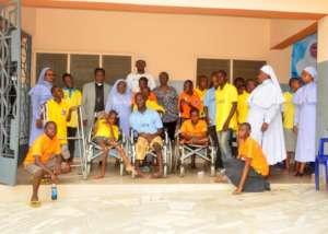 Visited De Paul Special needs children centre