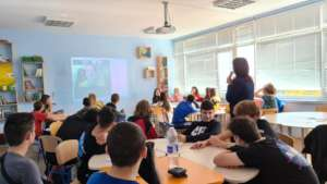 Virtual guest in classroom