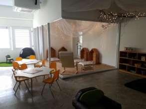One of Nuestra Escuela's classrooms
