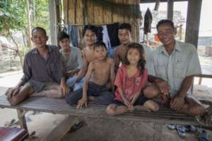 Family Freed from the Threat of Landmines