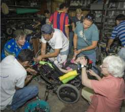 It takes Team Work to get the right wheelchair