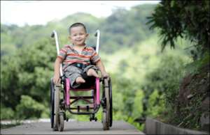 With a wheel chair one can become mobile and enjoy