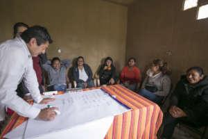 Administration workshop in Huejotengo