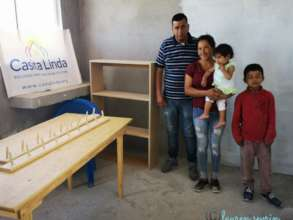 Max delivers furniture to Casita Linda family