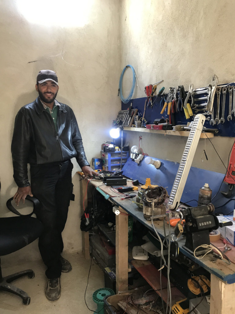 Investing in the Future for a Syrian Community