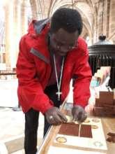 Bishop Bertin at Chester Cathedral