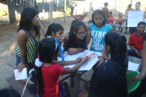 Group activities during Family Planning Workshop