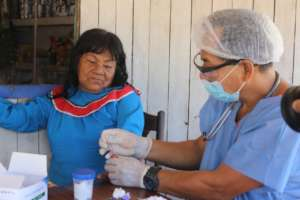 Rapid test administered in Paoyhan