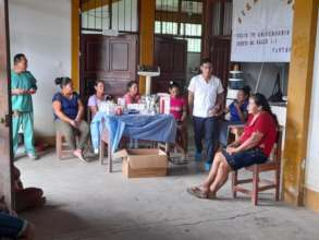 Delivery of medicines to the Paoyhan Medical Post