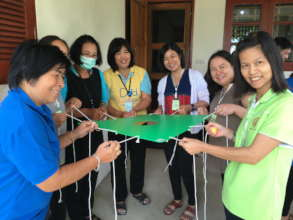 Training orphanage staff in family placement