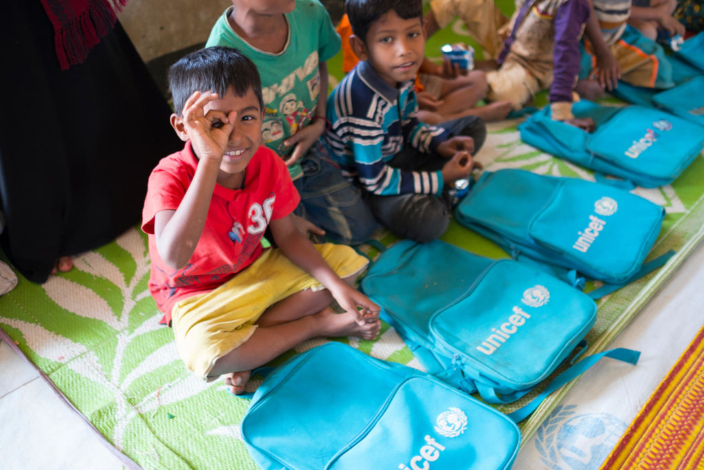 Support Children in the Rohingya Refugee Crisis