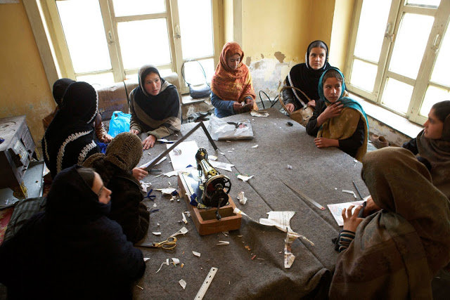 Purchase 2 Sewing Machines for Afghan Women