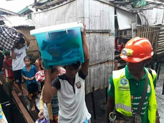 Relief for Philippine Typhoon Vinta Survivors