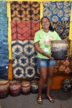 Lalaina showcases her work at Santa Fe