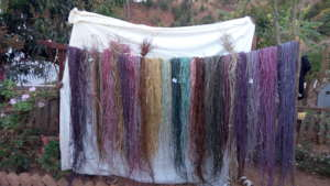 Natural Dye Workshop with the team, Madagascar