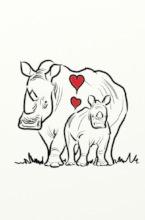 Rhino Art by Jeff Harrison