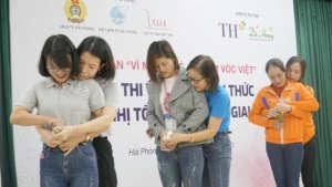 Practice exam of using condoms