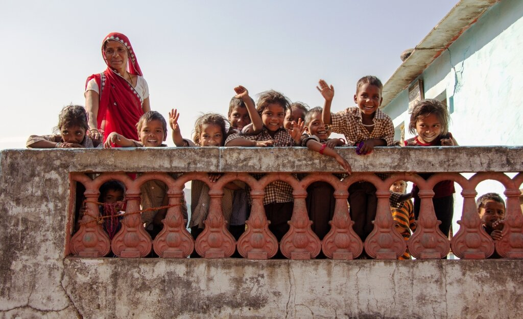 Fighting Malnutrition Through Child Care in India