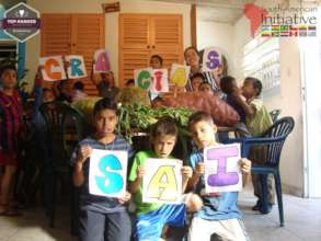 Children thank all our generous donors