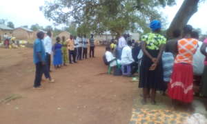 Angic Community agreed to elect their leaders