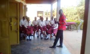 A staff sends the girls for General election