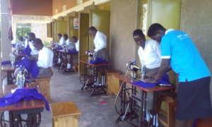 Girls under training for employment