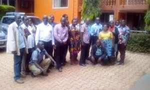 Group photo of District Coordinators: Training