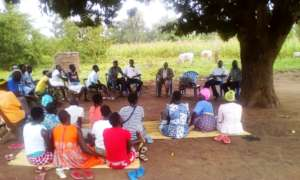 selected 20 Girls, their parents and KIFA: meeting