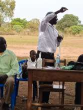 Project Leader advocating for Quality Education