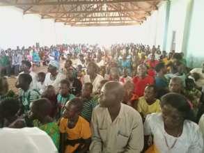 Community in attendance