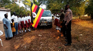 New Van acquired; Visiting director flagged off