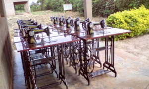 Sewing machines procured for Girl's child training