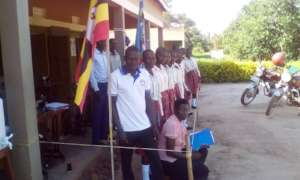 Staff introduced to the students at the institute